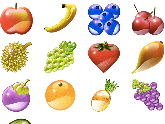 Fun Fruit Icons