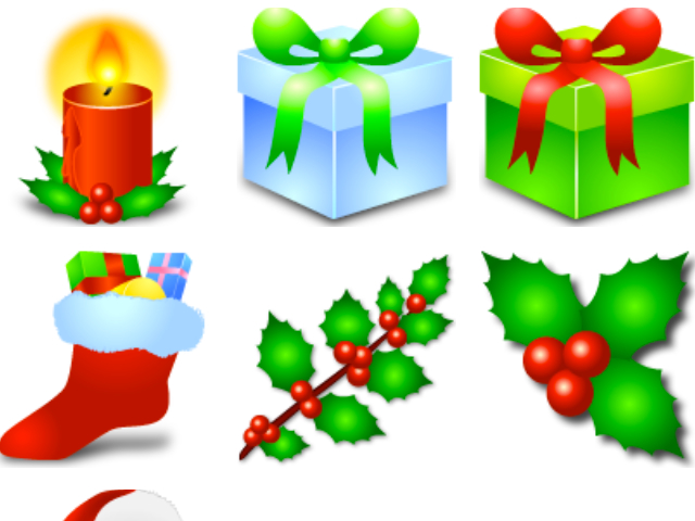 Christmas 'Noel' Icons for 2003