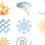 Earth Element Icons